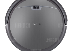 $139 with for ILIFE A4S Smart Robotic Vacuum Cleaner  –  EU PLUG  EU warehouse GRAY from GearBest