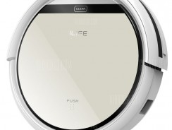 $110 with coupon for ILIFE V5 Intelligent Robotic Vacuum Cleaner  EU warehouse– SILVER from GearBest