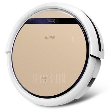 €139 with coupon for ILIFE V5S Pro Intelligent Robotic Vacuum Cleaner – CHAMPAGNE GOLD EU PLUG EU Warehouse from GearBest