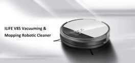 $199 with coupon for ILIFE V8S Vacuuming Mopping Robotic Cleaner with LCD Display from GearBest