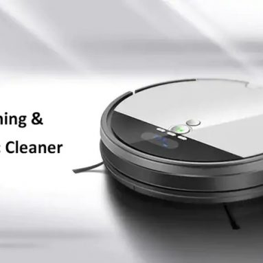 $184 with coupon for ILIFE V8S Vacuuming Mopping Robotic Cleaner with LCD Display from GearBest