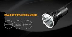 $96 with coupon for IMALENT RT35 2350lm Super Bright USB Magnetic Charging LED Flashlight from GearBest