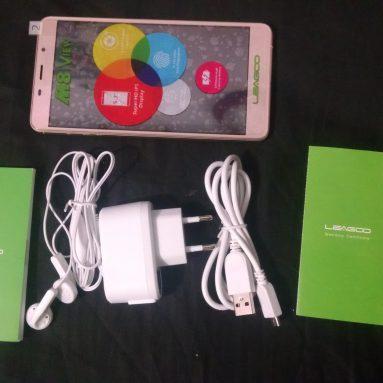 Leagoo M8 Smartphone Design, Antutu, Camera, Battery Hands-on Review