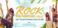 GearBest ROCK THE SUMMER SALE Hanggang sa 70% OFF • Game ng COCONUT • Mga Add-Cool