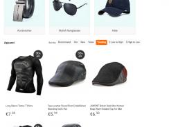 """35% discount coupon for """"Clothes and Apparel"""" category GearBest"""
