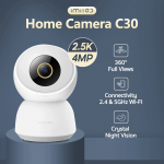 42 євро з купоном на глобальну версію 2021 року IMILAB C30 4-мегапіксельна Wi-Fi IP-камера спостереження Безпека H.265 Нічне бачення Виявлення людини Відстеження людини Відкрита камера Робота з Alexa Google Assistant від BANGGOOD