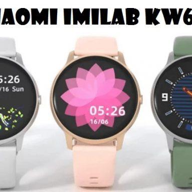 21 € avec coupon pour [Global Version] IMILAB KW66 3D HD Moniteur de fréquence cardiaque à écran incurvé 30 jours en veille Montre personnalisée Face IP68 Étanche Bluetooth 5.0 Montre intelligente de Xiaomi Eco-system de BANGGOOD