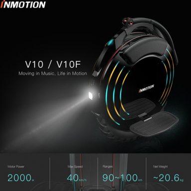 € 719 s kuponem pro INMOTION V10 Elektrické jednokolejové váhy od GearBest