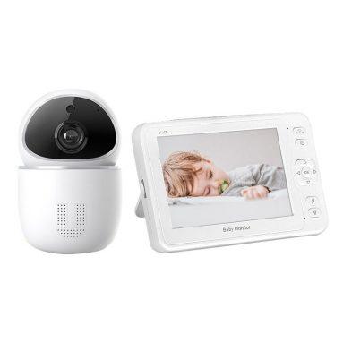 € 76 עם קופון ל- INQMEGA BM891 2MP 1080P HD IP מצלמת תינוק צג תינוק שינה ניטור מצלמת דו כיוונית ראיית לילה אבטחת בית מצלמת בייביפון - 4.3 אינץ 'מבית BANGGOOD