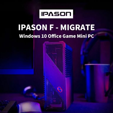 €295 with coupon for IPASON F – MIGRATE Windows 10 Office Game Mini PC – Black 4GB DDR4 + 240GB SSD EU Plug from GEARBEST