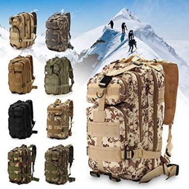 € 15 na may kupon para sa IPRee® Outdoor Military Rucksacks Tactical Backpack Sports Camping Trekking Hiking Bag - Digital Camo EU UK Warehouse mula sa BANGGOOD