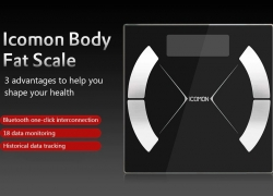 $25 with coupon for Icomon i31 Bluetooth 4.0 Body Fat Scale from GearBest