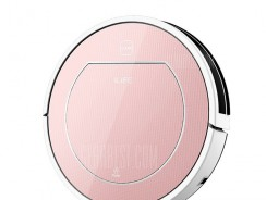 $149 with coupon for ILIFE V7S Pro Smart Robotic Vacuum Cleaner – EU warehouse EU PLUG ROSE GOLD from GearBest