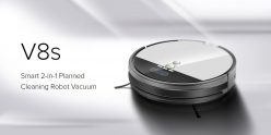$199 with coupon for Ilife V8S Robotic Vacuum Cleaner with LCD Display – PLATINUM EU warehouse from GearBest