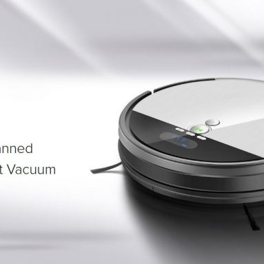 $185 with coupon for Ilife V8S Robotic Vacuum Cleaner with LCD Display – PLATINUM EU warehouse from GearBest