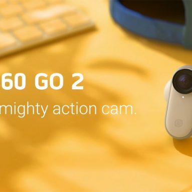 € 254 с купоном на Insta360 Go 2 Tiny Mighty Action Camera от TOMTOP