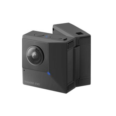€337 with coupon for Insta360 EVO Folding 5.7K 180° 3D VR 360° Photo Panoramic Naked Eye Anti Shake HD Sport Vlog Camera from BANGGOOD