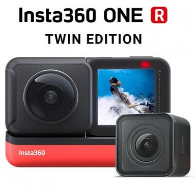 € 390 dengan kupon untuk Insta360 ONE R Twin Edition Dual Lenses Anti-shake Sports Action Camera dari EU Germany Warehouse TOMTOP