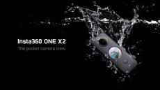 Insta326 वन X360 2K स्पोर्ट पैनोरमिक एक्शन कैमरा पॉकेट वॉटरप्रूफ फ़्लोएस्टेट स्टेबलाइज़ेशन मोशन कैम के लिए कूपन के साथ 5.7 €