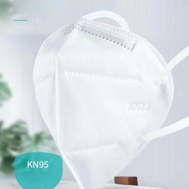 € 37 dengan kupon untuk 20 PCS Iwown KN95 Masker Wajah PM2.5 anti-kabut Pelindung Mulut Yang Kuat - EU Spanyol gudang dari GEARBEST