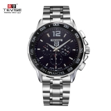 $2 Off TEVISE New Arrivals Men Luxury Full Steel Discolored Glass Military Style Automatic Mechanical Unisex Watch,free shipping $15.99(Code:TEVISE2) from TOMTOP Technology Co., Ltd