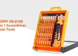 $6 with coupon for JAKEMY JM-8100 32 in 1 Screwdriver Repair Tools Set from GearBest