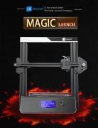 $ 189 dengan kupon untuk JGAURORA 3D Printer Magic DIY 3D Printer Kit - Hitam EU Plug dari GearBest