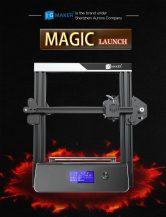 $ 189 s kupónom pre súpravu tlačiarne JGAURORA 3D Printer Magic DIY 3D - čierna EU konektor od GearBest