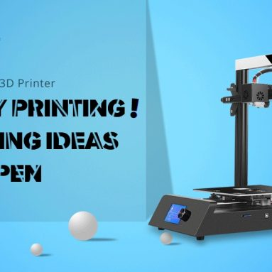 $169 with coupon for JGAURORA JGMAKER Magic High Precision 3D Printer – Black EU Plug from GEARBEST