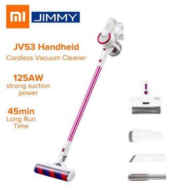 93 يورو مع كوبون لـ JIMMY JV53 425W مكنسة كهربائية لاسلكية محمولة من EU PL WAREHOUSE BANGGOOD