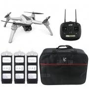 JJRC JJPRO X159 5G WiFi kupon ile $ 5 WiFi FPV RC Drone GPS Konumlandırma Rakım Tutun 1080P Kamera - XBUM SAĞLAR IŞIK GRI + XBUMGAN ÇANTASI GearBest gelen