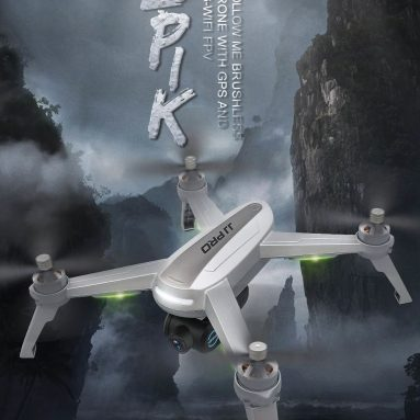 €114 with coupon for JJPRO X5 5G WIFI FPV Brushless With 1080P HD Camera Point of Interest GPS RC Drone Quadcopter RTF from BANGGOOD