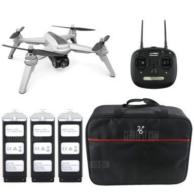 $ 165 với phiếu giảm giá cho JJRC JJPRO X5 5G WiFi FPV RC Drone GPS Định vị độ cao Giữ máy ảnh 1080P - LỚP ÁNH SÁNG VỚI PIN 3 + TÚI 1 từ GearBest
