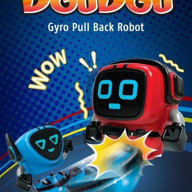 $ 5 với phiếu giảm giá cho Đồ chơi giáo dục trẻ em JJrc R7 Gyro Kéo lại Robot - Màu đỏ từ GEARBEST