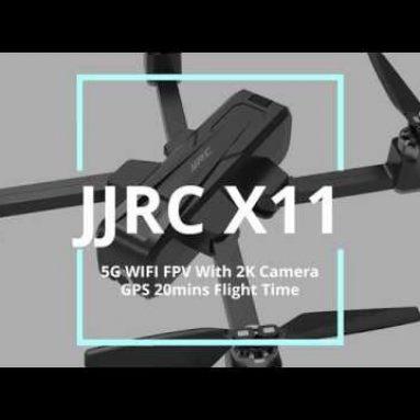 € 130 với phiếu giảm giá cho FPV FPV JJRC X11 5G với máy ảnh 2K GPS 20mins Thời gian bay có thể gập lại RC Drone Drone RTF từ BANGGOOD