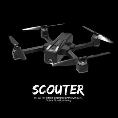 € 190 với phiếu giảm giá cho JJRC X11 5G WiFi GPS RC Drone - RTF - Đen Ba pin với túi lưu trữ từ GEARBEST