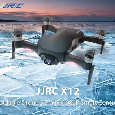 €217 with  coupon for JJRC X12 Foldable Drone 5G WiFi 1080P Smart Control High-definition Camera Stabilizing Platform – Black 1080P from GEARBEST