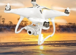 € 171 med kupon til JJRC X6 Aircus GPS RC Drone med toakse stabilisering PTZ Gimbal - Hvid 1 batteri fra GEARBEST