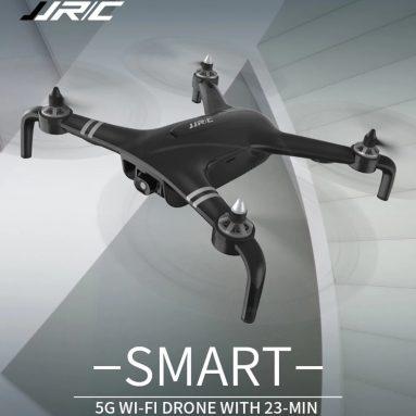 € 114 với phiếu giảm giá cho JJRC X7 SMART Double GPS 5G WiFi với máy ảnh 1080P Gimbal 25mins Thời gian bay RC Drone Drone RTF - Pin trắng từ BANGGOOD