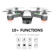 169 avec coupon pour drone RC FPV WiFi 9G JNRC X5G - RTF 1080P Positionnement du flux optique GPS - Noir de GearBest