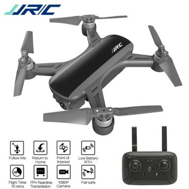 €152 with coupon for JJRC X9 Heron GPS 5G WiFi FPV with 1080P Camera Optical Flow Positioning RC Drone Quadcopter RTF – White One Battery from BANGGOOD