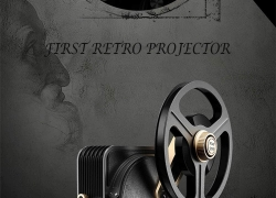 €999 with coupon for JMGO 1895S LED Retro Projector Home Theater – BLACK EU PLUG from GearBest