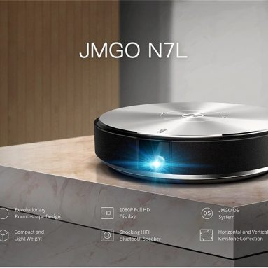 $539 with coupon for JMGO N7L DLP Projector – SILVER EU PLUG from GearBest