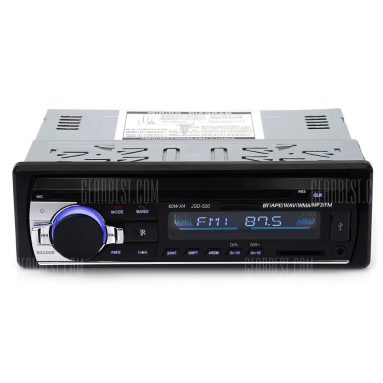 $17 flashsale for JSD – 520 Bluetooth Car Audio Stereo MP3 Player Radio  –  BLACK from GearBest