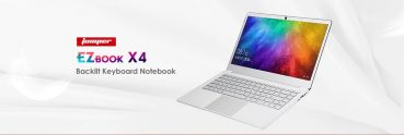 $319 with coupon for JUMPER EZbook X4 Laptop 14.0 inch IPS Screen from GearBest