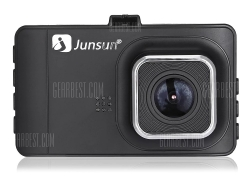 $19 with coupon for JUNSUN T518 Car Dash Cam 1080P Full HD DVR  –  BLACK from GearBest