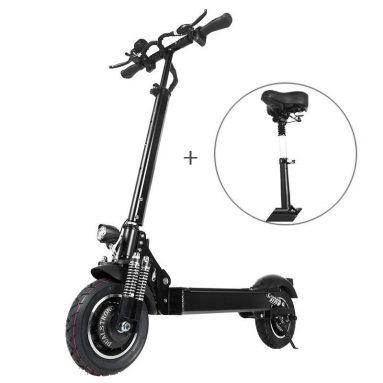 € 714 avec coupon pour Janobike T10 2000W Dual Motor 23.4Ah Scooter électrique pliant 10 pouces avec siège de l'entrepôt EU CZ BANGGOOD