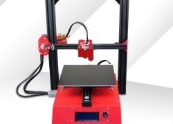 $239 with coupon for Jazla J1 3D Printer – RED US PLUG ( 3-PIN ) from GearBest