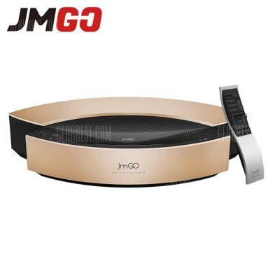 $ 4437 với phiếu giảm giá cho máy chiếu DLP thông minh JmGO S1 Pro ngắn Throw - GOLDEN từ GearBest