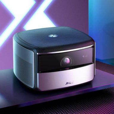 €827 JmGO用のクーポン付きX3 DLPプロジェクターアンドロイド2G + 16G 1500 ANSIルーメン3840 * 2160ネイティブ解像度4K LEDサポート